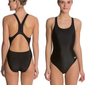 Speedo black pro Lt Superpro swimsuit size 10/36